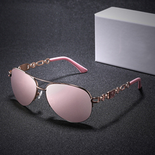 XIWANG 2019 European And American Trendy Ladies PC Frame Sunglasses New Polarizing Fashion Colored Sunshade Glasses