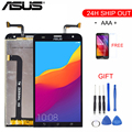 Оригинальный Для ASUS Zenfone 2 Laser ZE550KL LCD сенсорный экран дигитайзер с рамкой для Asus ZE550KL ЖК-дисплей запасные части