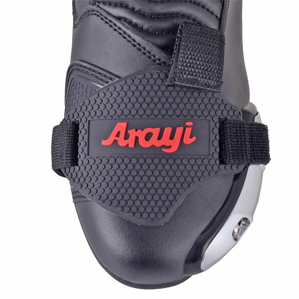 Arayi Scarpe Da Moto Protettivo Moto Moto Gear Shifter Scarpa Stivali di Protezione Del Cambio di Boot Calzino Copertura Shifter Guardie
