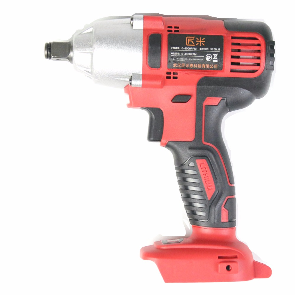 Integrated Cordless Electric Wrench Impact Socket Wrench Body (no Battery Included) Li Battery Hand Drill Hammer цена