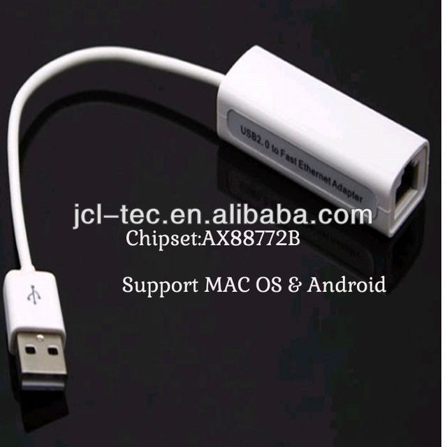 USB 2.0 to Ethernet 10/100 RJ45 Network LAN Adapter Card support windows7/8 MAC & Android