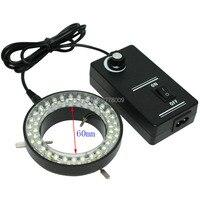 Miễn phí vận chuyển!!! 60 LED Có Thể Điều Chỉnh Vòng Ánh Sáng Đèn chiếu sáng Đối Với Ngành Công Nghiệp Kính Hiển Vi Công Nghiệp Máy Ảnh Magnifier