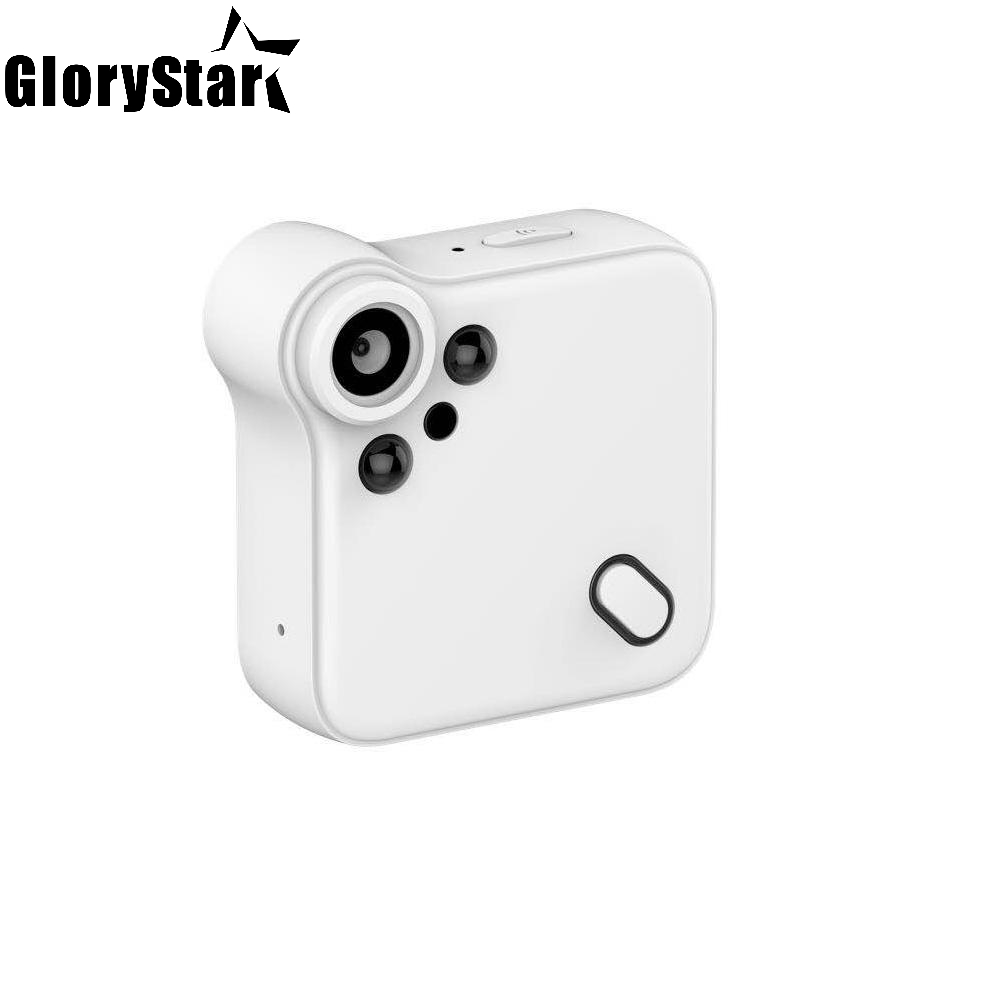 Black White Mini Camera Portable C1S Surveillance Camera Motion DV Cam Home Secure Protector Wireless Mini Night Vision Camera