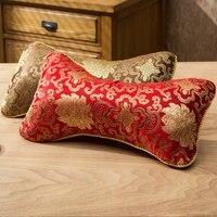 Bamboo Charcoal Bone Pillow Lumbar Cushion Back Waist Support Travel Pillow Car Seat Home Office Pillows Relieve Pain ZT 51