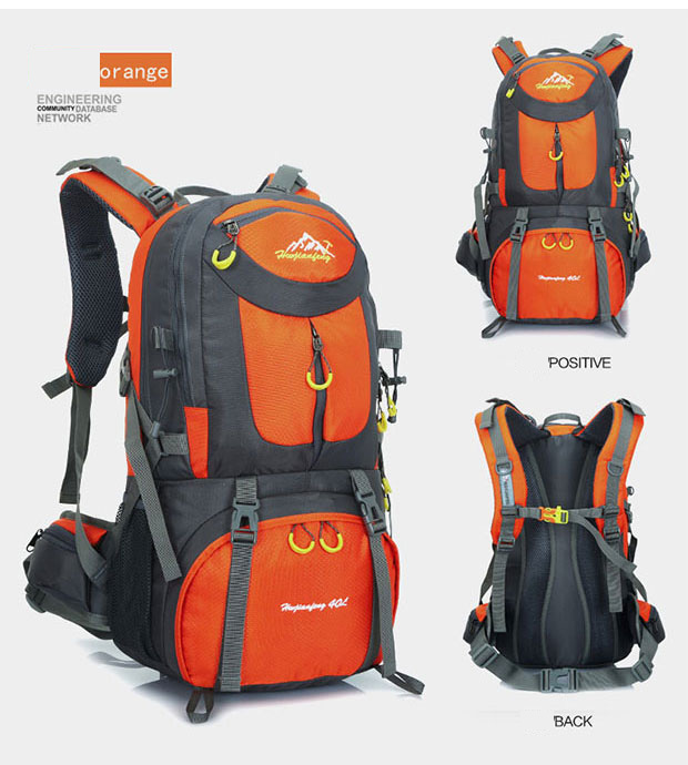 água esportes mochila viagem escalada montanha 40l