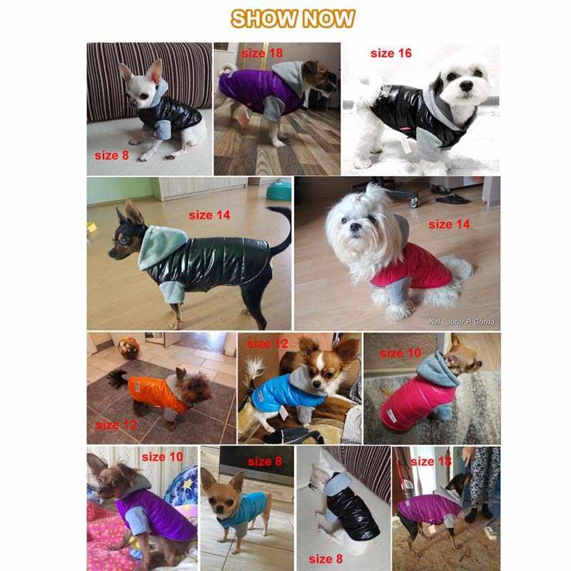 Pawstrip мягкая теплая собака кофта для собак флисовая подкладка зимняя одежда для собак чихуахуа Французский бульдог Shih tzu Одежда для собак