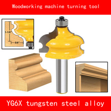 Woodworking machine turning tool YG6X tungsten steel alloy Milling cutter machining Cabinet wood corner line