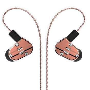 Revonext QT5 1DD+1BA Hybrid In Ear Earphone HIFI DJ Monitor Running Sport Earphone Earplug Headset Earbud QT2/QT3 - DISCOUNT ITEM  45% OFF All Category