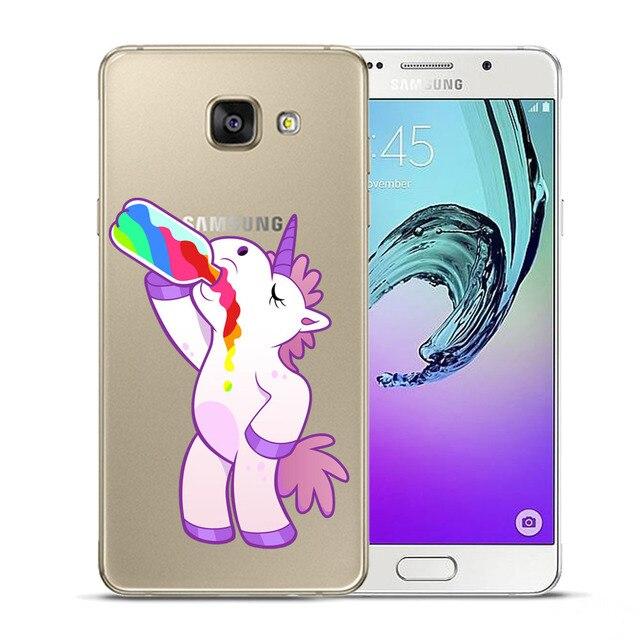 I'm Unicorn As You Wish Soft TPU Case For Coque Samsung Galaxy J3 J5 J7 J2 Prime A3 A5 A7 2015 2016 2017 A8 Plus 2018 Cover