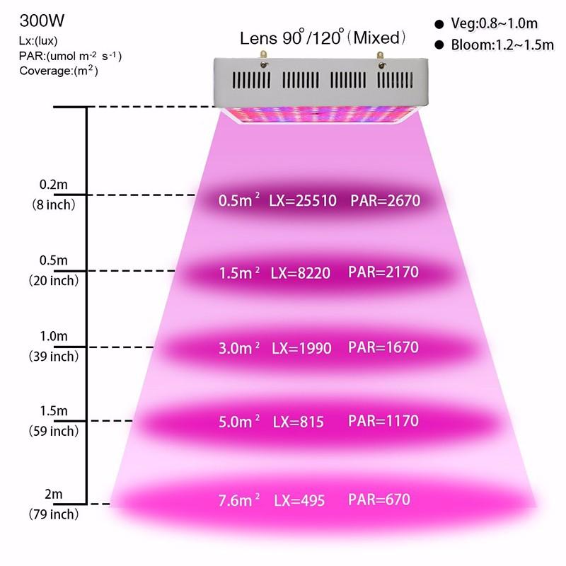 300W NEW LED GROW-1