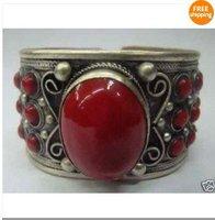 Do homem jóias de prata tibetano tibetano pulseira/manguito