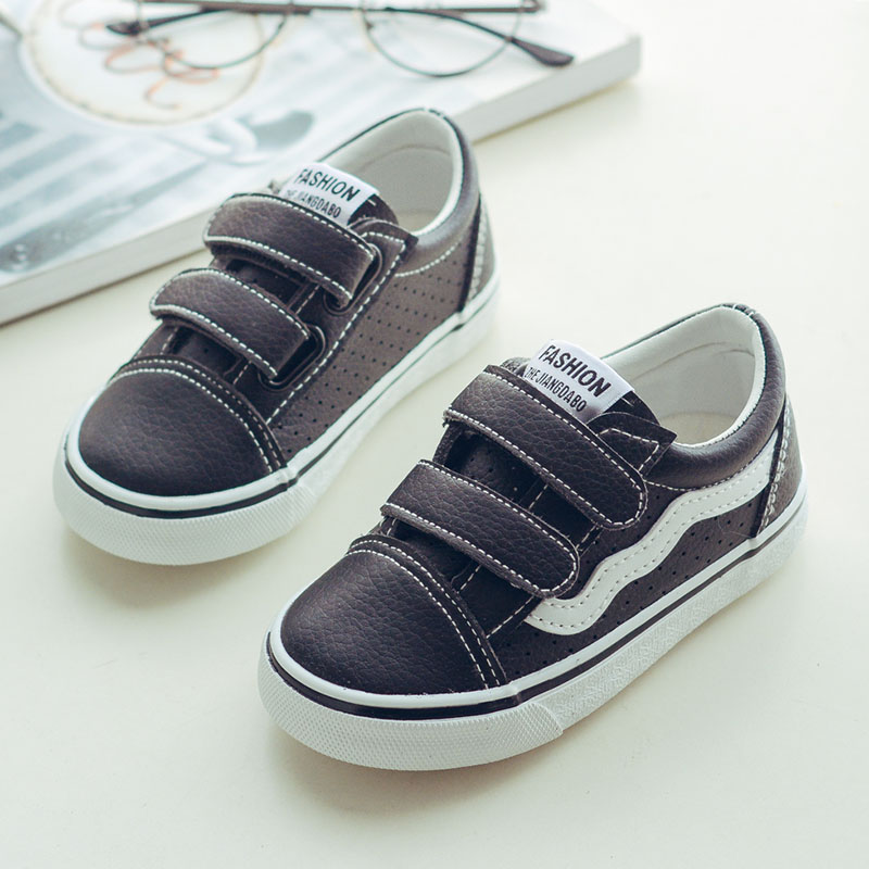 New 2018 Spring Children Shoes Boys Sneakers Brand Kids Shoes for Girls Stripe Hollow Out Flat Footwear Baby Toddler Shoes ...