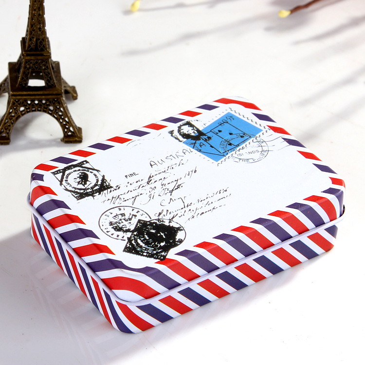1PC Distance Of Letter Small Tin Box Stationery Retro Iron Metal Storage Box  Metal Crafts Hot Selling JX 1126 In Bottles,Jars U0026 Boxes From Home U0026 Garden  On ...