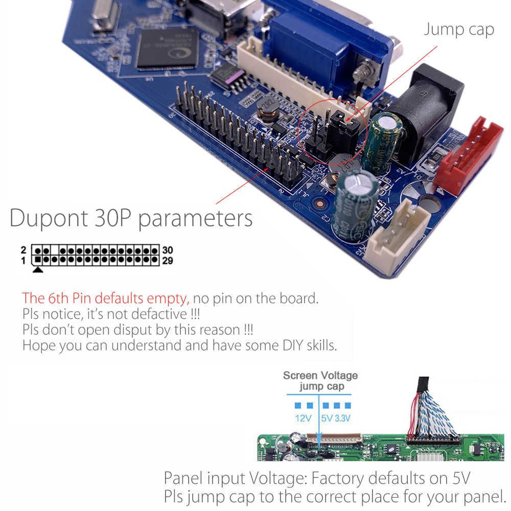 CV56XL-L Universal LCD LED TV Controller Driver Papan Kit TV/PC/VGA/HDMI/USB Antarmuka Matrix v53RUUL-Z1