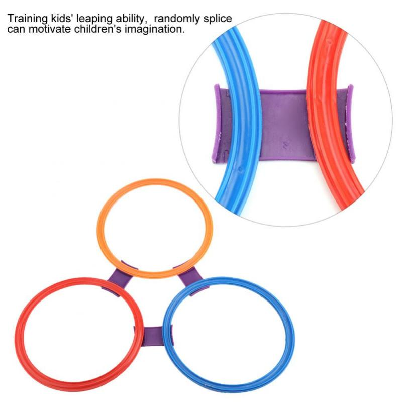 Jumping Ring Outdoor Toys Sports 2018 Preschool Teaching Toys Children Movement Ability Training Game Jumping Ring Toys For Kids