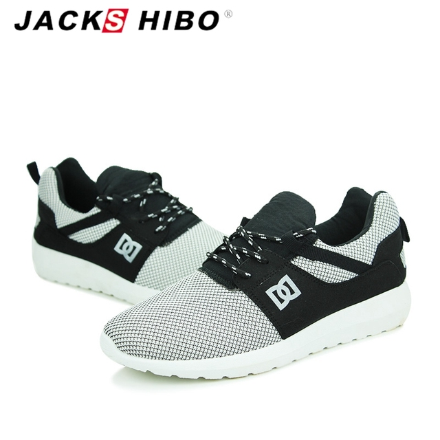 JACKSHIBO Brand Men Casual Shoes Spring Autumn Fashion Man Shoe Zapatillas Hombre Army Green Mens Shoes Casual Footwear