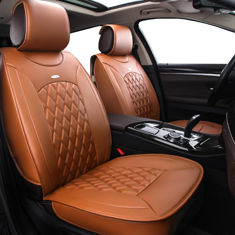 New Pu leather Auto Car Seat Covers Universal Automotive car seat cover for opel antara astra g h j corsa d insignia meriva Auto for opel astra h g opel insignia corsa small hole ventilate wear resistance pu leather front