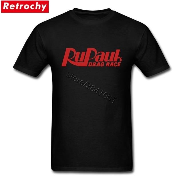 2cf7546b RuPaul Tee Shirt Tall Guy 80s Style rupaul's drag race T Shirt O Neck Cheap  Price Branded Merch Oversized Boyfriend