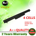 Wholesales New 4 CELLS laptop battery For HP Pavilion 14  15 Ultrabook  Series   694864-851   HSTNN YB4D   VK04 FREE SHIPPING