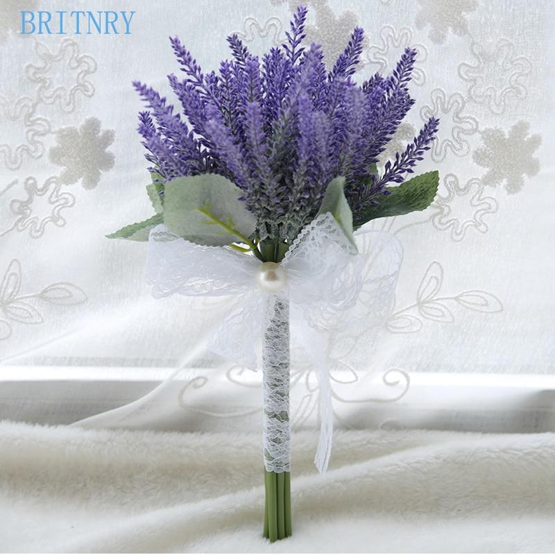 Purple Flower Wedding: Aliexpress.com : Buy BRITNRY Real Photos Purple Wedding