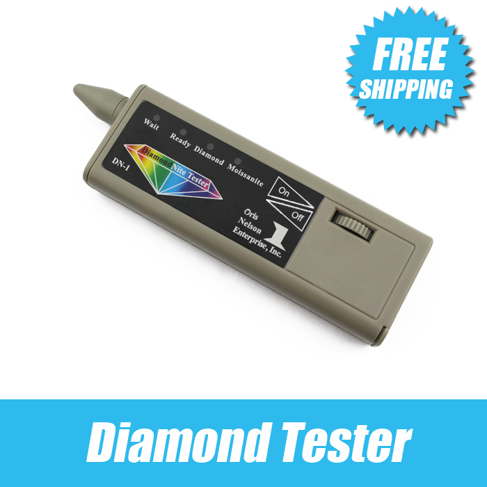 Free shipping DiamondNite Dual diamond Moissanite Tester , high quality,low price ,very small , easy to use and carry,durabilityFree shipping DiamondNite Dual diamond Moissanite Tester , high quality,low price ,very small , easy to use and carry,durability
