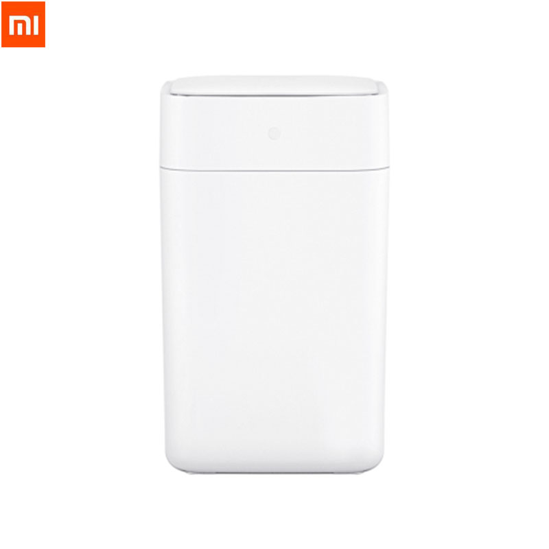 Original Xiaomi Mijia Townew T1 Smart Trash Can Motion Sensor Auto Sealing Led Induction Cover Trash 15.5l Mi Home Ashcan Bins Home Appliance Parts