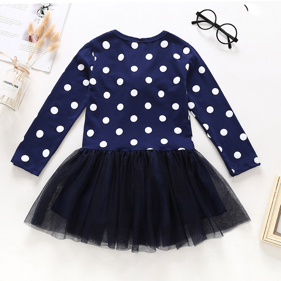 02c1154f08 Summer Cute Toddler Kids Baby Girl Cartoon Flower Deer Long Sleeve Princess  Lace Short Sexy Party Dress Outfits Clothes 2019