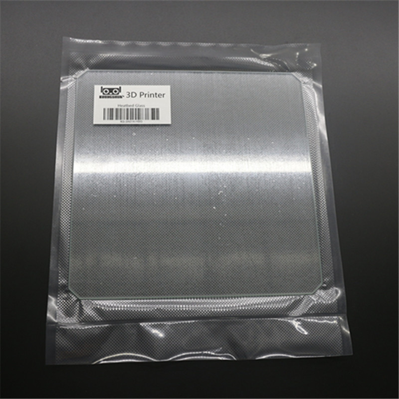 3D Printer DIY Reprap MK Heated Bed Borosilicate Glass 214 * 214 * 3 mm Steel