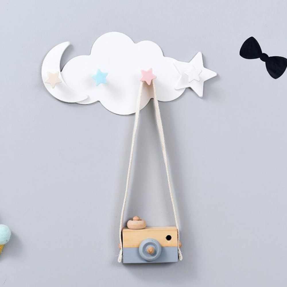 Креативная облачная мультяшная самоклеющаяся домашняя кухонная настенная дверь