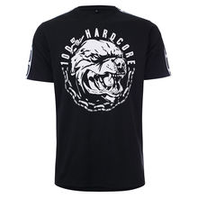 100% HARDCORE T-Shirt Aggressive Breed | Black Gabber Techno T Shirt Mens 2018 New Tee Shirts Printing Top Plus Size
