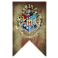 Harry Potter Banners Gryffindor Slytherin Hufflerpuff Ravenclaw College Flag Party Supplies Home Decoration Boys Girls Kids