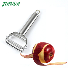 Jianda Acero inoxidable Rotary carrot Potato Peeler melón gadget vegetales frutas nabo slicer Cutter cocina Herramientas
