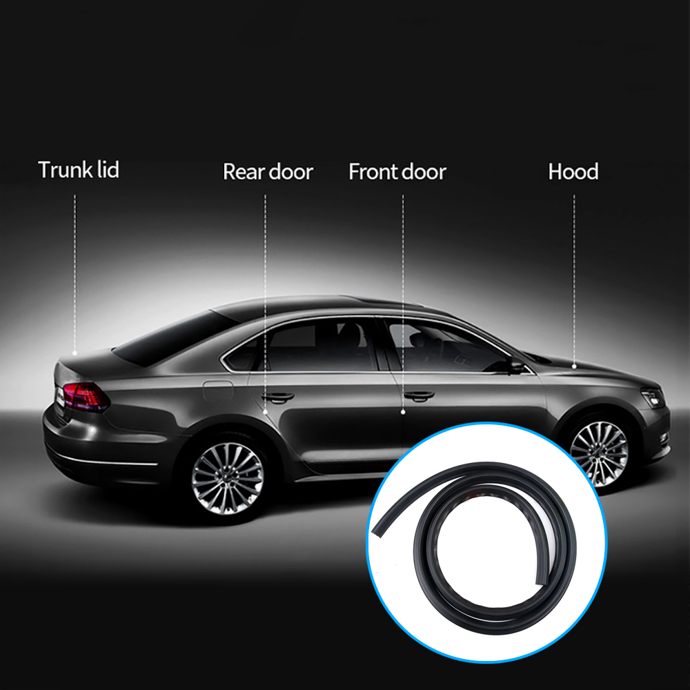 Universal Car Rubber Sealing Windshield Glass Car Seal Strip Dashboard Edge Trim Sealant No Dust Water Noice Weatherstrip In Many Styles