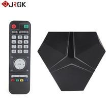 JRGK android tv box Оперативная память 3 ГБ Встроенная память 32 ГБ 100 м/1000 м Android 6,0 tv box Smart tv box Bluetooth 4,1 4 К оты Media Player телеприставки