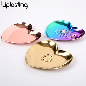 Storage-Tray Jewelry Food-Preservation Fruit Home-Decor-Accessories Kitchen for Heart-Shaped