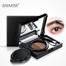 BAIMISS Cushion Compact Of Two-Tone Eyebrow Powder Eyebrow Shadows