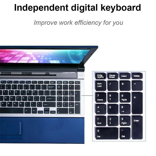 15.6 Inch 8GB RAM 512G SSD with DVD-Driver Laptop Intel  i7-3517U Processor IPS 1080P Screen Notebook  Windows 10 Ultrabook