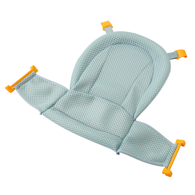 Baby Bath Mesh Seat Support Hammock Bathing Bathtub Infant Care Shower Adjustable Sling Net FJ88