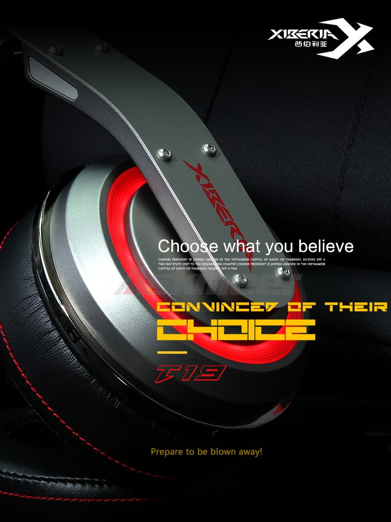 USB Gaming Headphones with Micrphone 7.1 Surround Sound Stereo Glowing Headset (1)