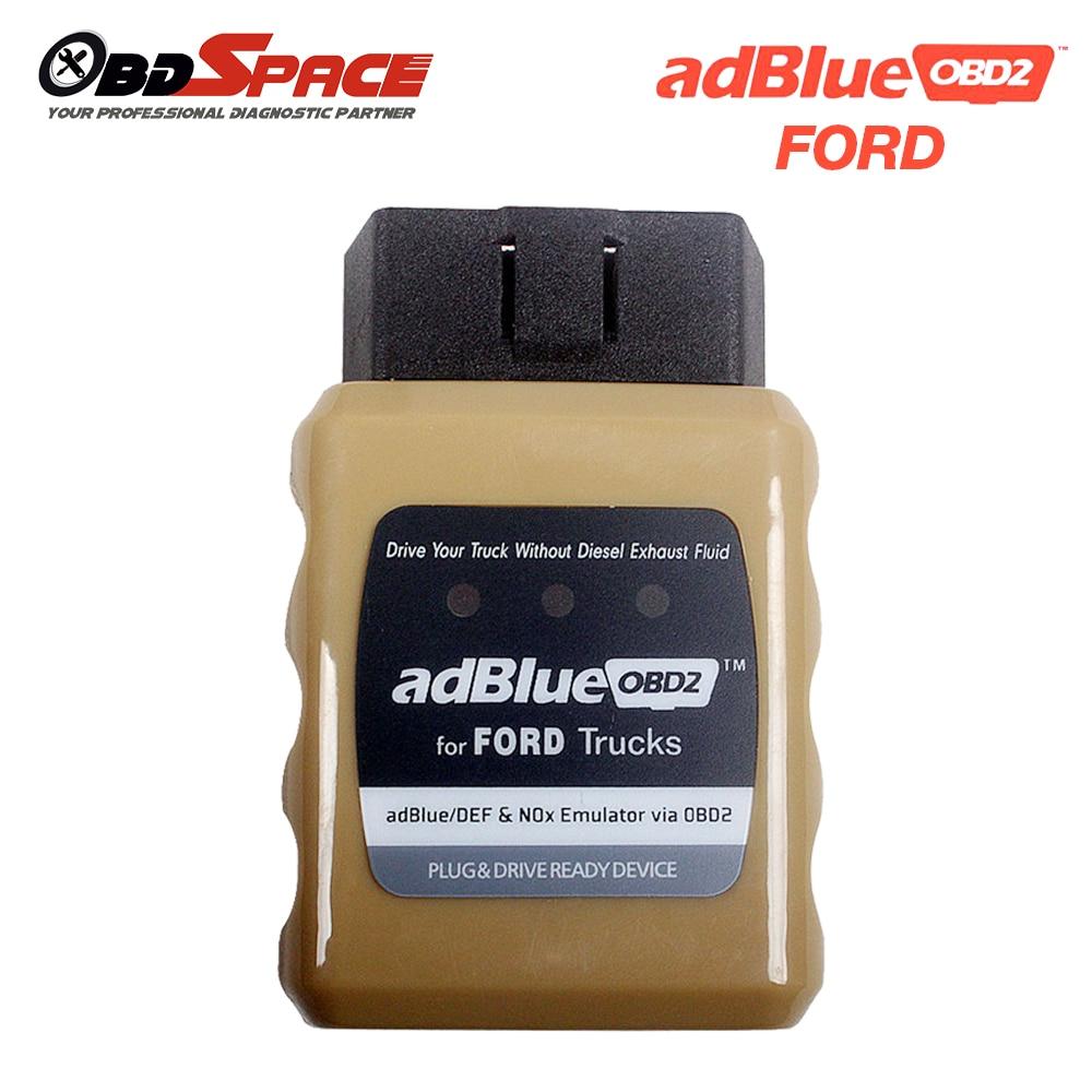 Prix pour Adblue OBD2 Émulateur pour Ford Camion AdblueOBD2 Ford Plug And lecteur Adaptateur Pour SCR Émulateur Euro 4/5/6 Capteur Nox Pour Ford-camion