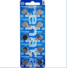 10 pçs/lote VAREJO BrandNew Renata DURADOURO 390 SR1130SW 389 LR54 AG10 Assista Botão Bateria de Célula Tipo Moeda Suíça Feito 100% original