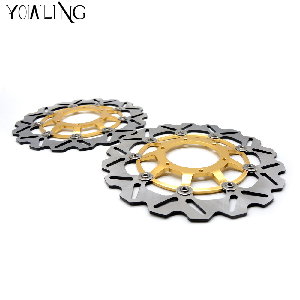 Motorcycle Part Modified flower Front Floating Brake Disc Rotor for HONDA CBR600 2007 2008 2009 2010 2011 2012 2013 for honda cbr600rr 2007 2008 2009 2010 2011 2012 motorbike seat cover cbr 600 rr motorcycle red fairing rear sear cowl cover