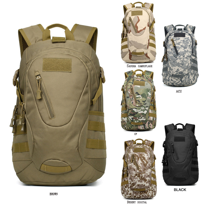 Outdoor Molle Fishing Camping Climbing Sport Bags Tactical Military Hunting Trekking Backpack