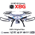 Syma X8G 2.4G 4ch 6 Axis Venture with 8MP Camera RC Quadcopter RTF RC Helicopter Christmas Gift Drone With Camera