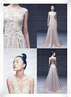 casamento fashionable sexy appliques lace crystal vestido de novia long brides 2018 bridal gown mother of the bride dresses