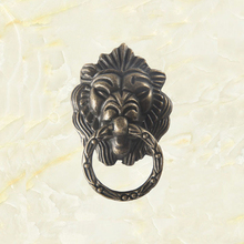 Antique Bronze Lion Head Design Drawer Ring Pull Handle Knob Cabinet Pulls Handles Decorative Gift Box [haotian vegetarian] accessories antique bronze bronze copper beast lion head door knocker handle hta 001