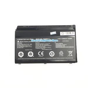 Image 2 - Originale Li Ion Batteria per CLEVO W370BAT 8 6 87 W370S 4271 6 87 W37SS 427 K590S Batteria Del Computer Portatile 14.8V 5200mAh 76.96Wh