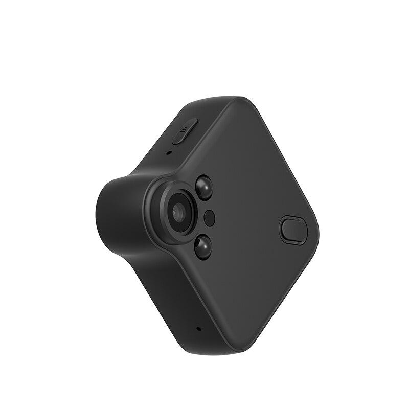 Мини ip беспроводной Wi-Fi камера видеонаблюдения cam с сильным Магнит Стенд Невидимый светодио дный свет функция ночного видения