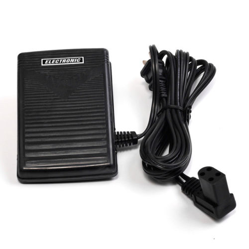 LARGE Foot Control Pedal With Cord #618811 005 For Singer Portable Sewing Machines