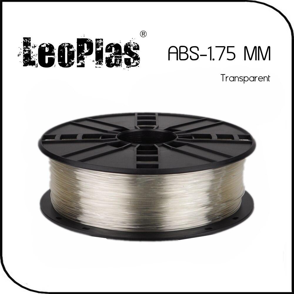 Worldwide Fast Delivery Direct Manufacturer 3D Printer Material 1 kg 2 2 lb 1 75mm Transparent